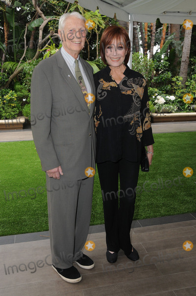 Michele Lee Photo - 04 May 2016 - Beverly Hills California - Dr Stanley Frileck Michele Lee Arrivals for ABCs Annual Mothers Day Luncheon held at the Four Seasons Hotel Photo Credit Birdie ThompsonAdMedia