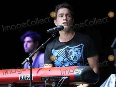 Andy Grammer Photo - September 7 2012 - Up and coming alt-rocker Andy Grammer opened for hit rockers Train at the Chastain Park Amphitheater in Atlanta where he performed for a sold-out crowd Photo credit Dan HarrAdMedia