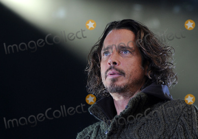 Audioslave Photo - 18 May 2017 - Singer CHRIS CORNELL of the bands SOUNDGARDEN and Audioslave dies at the age of 52  Photo Credit Jason L NelsonAdMediaFile Photo 12 May 2013 - Pittsburgh PA - Singer CHRIS CORNELL of the band SOUNDGARDEN performs at a stop on their North American Tour held at the Stage AE  Photo Credit Jason L NelsonAdMedia