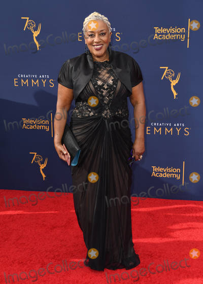 C C H Pounder Photo - 08 September 2018 - Los Angeles California - CCH Pounder 2018 Creative Arts Emmys Awards - Arrivals held at Microsoft Theater Photo Credit Birdie ThompsonAdMedia