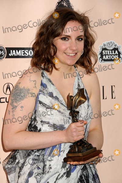 Lena Dunham Photo - 26 February 2011 - Santa Monica California - Lena Dunham 2011 Film Independent Spirit Awards - Press Room held at Santa Monica Beach Photo Byron PurvisAdMedia