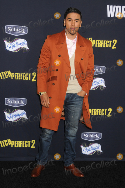 Adrian Marcel Photo - 8 May 2015 - Los Angeles California - Adrian Marcel Pitch Perfect 2 Los Angeles Premiere held at the Nokia Theatre LA Live Photo Credit Byron PurvisAdMedia