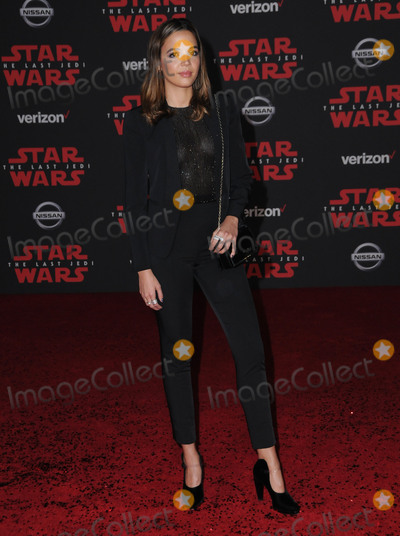 Georgi Photo - 09 December  2017 - Los Angeles California - Georgie Flores Premiere Of Disney Pictures And Lucasfilms Star Wars The Last Jedi held at The Shrine Auditorium  in Los Angeles Photo Credit Birdie ThompsonAdMedia