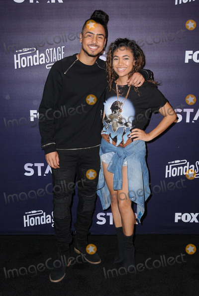 Paige Hurd Photo - 14 March 2017 - Burbank California - Quincy Brown Paige Hurd  Honda Stage celebrates the music of FOXs Star held at iHeartRadio Theater in Burbank Photo Credit Birdie ThompsonAdMedia