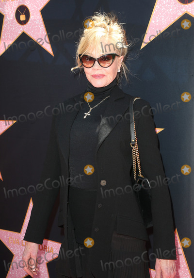 Melanie Griffith Photo - 16 April 2018 - Beverly Hills California - Melanie Griffith Eva Longorias Star On The Hollywood Walk of Fame Ceremony Post Luncheon Photo Credit F SadouAdMedia