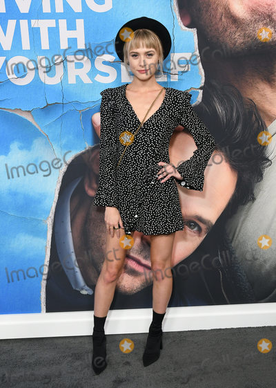 Hayley Erin Photo - 16 October 2019 - Hollywood California - Hayley Erin Netflixs Living With Yourself Season 1 Los Angeles Premiere held at the Arclight Hollywood Photo Credit Birdie ThompsonAdMedia