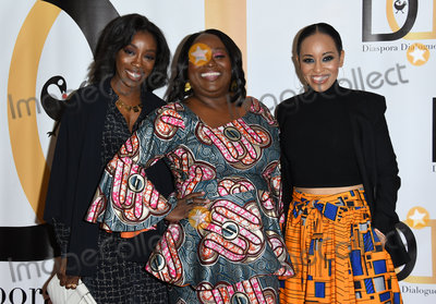 Estelle Photo - 23 October 2018 - Beverly Hills California - Estelle Koshie Mills Dawn Lyen-Gardner  The Diaspora Dialogues Premiere Launch Event held at The Viceroy Photo Credit Birdie ThompsonAdMedia