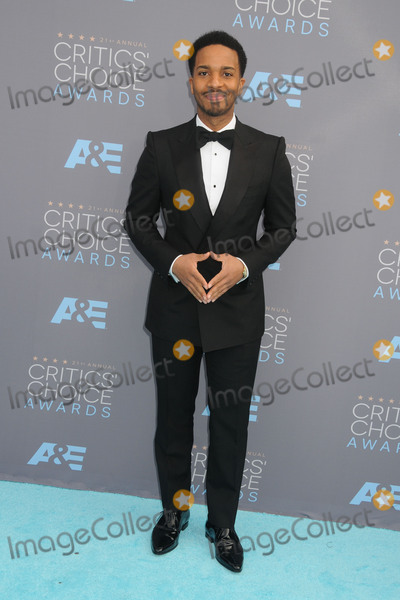 Andre Holland Photo - 17 January 2016 - Santa Monica California - Andre Holland 21st Annual Critics Choice Awards - Arrivals held at Barker Hangar Photo Credit Byron PurvisAdMedia