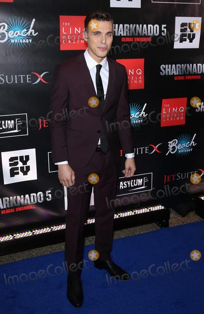 Cody Linley Photo - 06 August 2017 - Las Vegas NV - Cody Linley  Sharknado 5 Global Swarming red carpet premiere at Linq Hotel and Casino Photo Credit MJTAdMedia