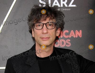 Neil Gaiman Photo - 20 April 2017 - Los Angeles California - Author of American Gods Neil Gaiman American Gods Los Angeles Premiere held at The Cinerama Dome Theatre Photo Credit AdMedia