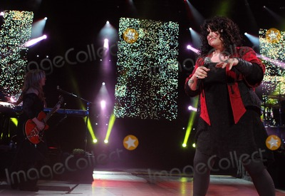 Ann Wilson Photo - 23 August 2013 - Los Angeles California - Nancy Wilson Ann Wilson Heart Heartbreaker Tour - Los Angeles Screening Held At The Greek Theater Photo Credit Kevan BrooksAdMedia
