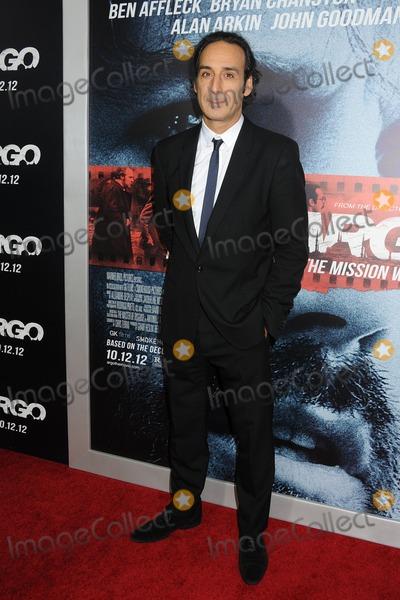 Alexandre Desplat Photo - 4 October 2012 - Beverly Hills California - Alexandre Desplat ARGO Los Angeles Premiere held at the AMPAS Samuel Goldwyn Theater Photo Credit Byron PurvisAdMedia