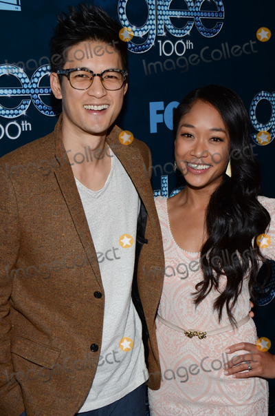 Harry Shum Jr Photo - 18 March 2014 - Los Angeles California - Harry Shum Jr and Shelby Rabara 2014 The Glee 100th episode celebration held at Chateau Marmont Photo Credit Tonya WiseAdMedia