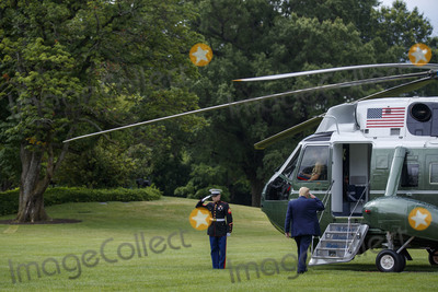 President Trump Photo - US President Donald J Trump walks to board Marine One on the South Lawn of the White House in Washington DC USA 10 July 2020 President Trump will receive a briefing and deliver remarks on SOUTHCOM Enhanced Counternarcotics Operations and he will participate in a roundtable on Supporting the People of VenezuelaCredit Shawn Thew  Pool via CNPAdMedia