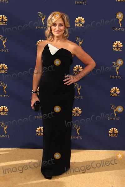 Edie Falco Photo - 17 September 2018 - Los Angles California - Edie Falco 70th Primetime Emmy Awards held at Microsoft Theater LA LIVE Photo Credit Faye SadouAdMedia