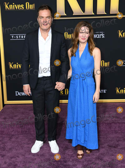 Michael Shannon Photo - 14 November 2019 - Westwood California - Michael Shannon Kate Arrington Knives Out Los Angeles Premiere held at Regency Village Theater Photo Credit Birdie ThompsonAdMedia