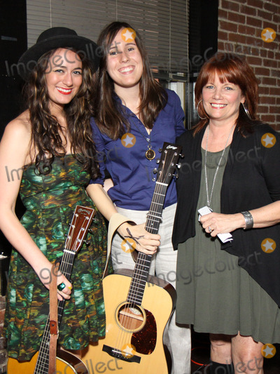Alyssa Bonagura Photo - July 26 2011 - Nashville TN - (l-r) Alyssa Bonagura Sean Della Croce and Kathie Baillie Artists musicians and songwriters came together at Mercy Lounge to help raise funds for Pete Huttlinger a widely respected guitarist and Nashville studio artist  Huttlinger has a congenital heart disease and is in need of a heart transplant Photo credit Dan HarrAdmedia