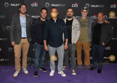 Andy Breckman Photo - 13 September 2019 - Beverly Hills California - (L-R) Dan Newmark Joe Gatto Brian Quinn Ben Newmark Andy Breckman and Michael Bloom The Misery Index at The Paley Center For Medias 13th Annual PaleyFest Fall TV Previews - TBS Photo Credit Billy BennightAdMedia