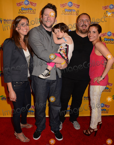 Alana Feld Photo - 11 July 2013 - Los Angeles Ca - Alana Feld Bill Horn Scott Masterson Juliette Feld Red carpet premiere of Ringling Bros and Barnum  Bailey Present Built to Amaze at The Staples Center in Los Angeles Ca Photo Credit BirdieThompsonAdMedia