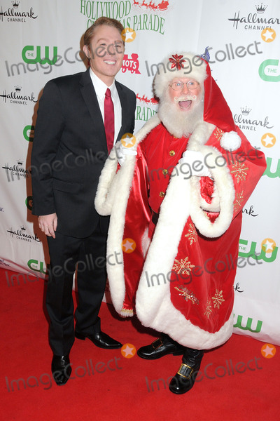Clay Aiken Photo - 29 November 2015 - Hollywood California - Clay Aiken Santa Clause 84th Annual Hollywood Christmas Parade held on Hollywood Blvd Photo Credit Byron PurvisAdMedia