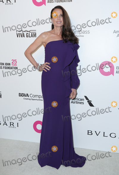 Andie Macdowell Photo - 04 March 2018 - West Hollywood California - Andie MacDowell 26th Annual Elton John Academy Awards Viewing Party held at West Hollywood Park Photo Credit PMAAdMedia