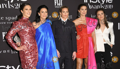 Alex Morgan Photo - 21 October 2019 - Hollywood California - Carli Lloyd Ali Krieger Ashlyn Harris Alex Morgan Kelley OHara 2019 InStyle Awards held at The Getty Center Photo Credit Birdie ThompsonAdMedia