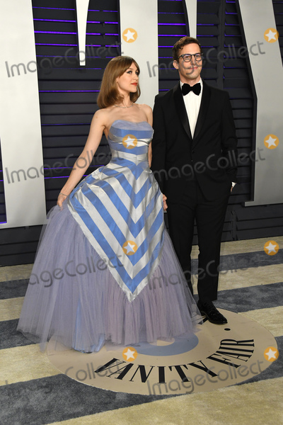 Andy Samberg Photo - 24 February 2019 - Los Angeles California - Andy Samberg Joanna Newsom 2019 Vanity Fair Oscar Party following the 91st Academy Awards held at the Wallis Annenberg Center for the Performing Arts Photo Credit Birdie ThompsonAdMedia
