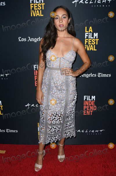 Aurora Photo - 21 September 2018 - Beverly Hills California - Aurora Perrineau 2018 LA Film Festival - Into The Dark The Body World Premiere held at the Writers Guild Theater Photo Credit Birdie ThompsonAdMedia