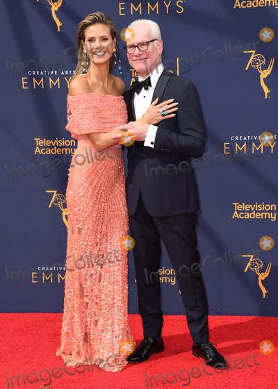 Tim Gunn Photo - 09 September 2018 - Los Angeles California - Heidi Klum Tim Gunn 2018 Creative Arts Emmy Awards - Arrivals held at Microsoft Theater Photo Credit Birdie ThompsonAdMedia