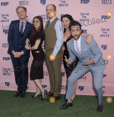 Aya Photo - 29 August  2017 - Los Angeles California - Chris Geere Aya Cash Stephen Falk Kether Donohue Desmin Borges FXXs Youre the Worst Season Four Premiere held at Museum of Ice Cream in Los Angeles Photo Credit Birdie ThompsonAdMedia