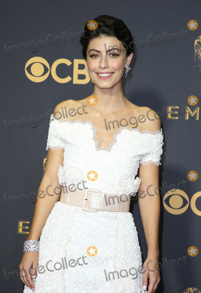 Alessandra Mastronardi Photo - 17 September 2017 - Los Angeles California - Alessandra Mastronardi 69th Annual Primetime Emmy Awards held at Microsoft Theater Photo Credit F SadouAdMedia