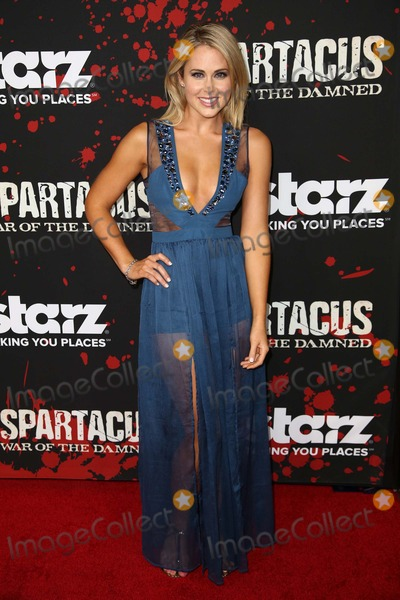 Anna Hutchison Photo - 22 January 2013 - Los Angeles California - Anna Hutchison Premiere Of Starzs Spartacus War Of The Damned  Held At Regal Cinemas LA Live Photo Credit Kevan BrooksAdMedia