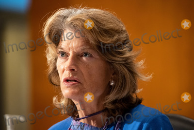 alaska Photo - United States Senator Lisa Murkowski (Republican of Alaska) makes remarks during the US Senate Health Education Labor and Pensions Committee during a hearing titled COVID-19 Going Back to School Safely on Capitol Hill in Washington DC on Thursday June 4 2020  Earlier in the day Murkowski praised former US Secretary of Defense James Mattis for his statement in The Atlantic backing the protestors demonstrating against the wrongful death of George Floyd and saying US President Donald J Trump is trying to divide AmericansCredit Ting Shen  CNPAdMedia