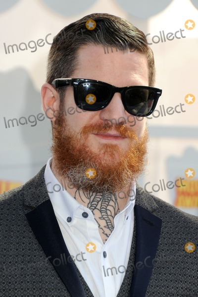 Andy Hurley Photo - 12 April 2015 - Los Angeles California - Andy Hurley Fall Out Boy 2015 MTV Movie Awards - Arrivals held at Nokia Theatre LA Live Photo Credit Byron PurvisAdMedia