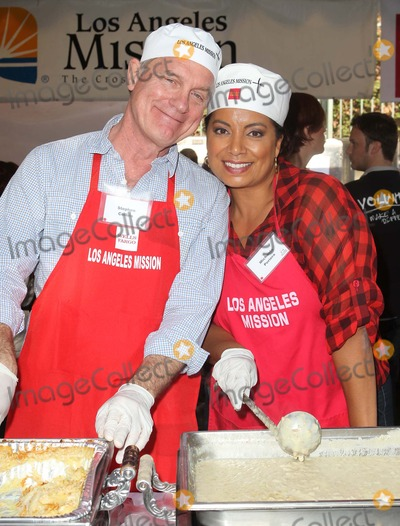 Michaela Pereira Photo - 21 November 2012 - Los Angeles California - Stephen Collins Michaela Pereira Kirk And Anne Douglas Host 8th Annual Thanksgiving For Skid Row Homeless At Los Angele Mission Held At The Los Angeles Mission Photo Credit Kevan BrooksAdMedia
