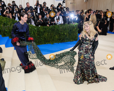 Madonna Photo - 01 May 2017 - New York New York - Sarah Paulson Madonna 2017 Metropolitan Museum of Art Costume Institute Benefit Gala at The Metropolitan Museum of Art Photo Credit Christopher SmithAdMedia