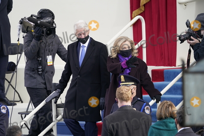 President Bill Clinton Photo - Former United States President Bill Clinton and former US Secretary of State Hillary Rodham Clinton arrive prior to US President Joe Biden taking the Oath of Office as the 46th President of the US at the US Capitol in Washington DC on Wednesday January 20 2021  Credit Chris Kleponis  CNPAdMedia