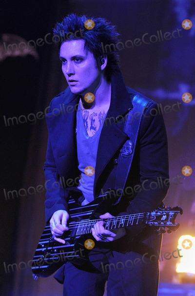 Avenged Sevenfold Photo - 21 May 2011 - Columbus Ohio - Guitarist SYNYSTER GATES of the band AVENGED SEVENFOLD performs as part of the Rock On The Range festival held at Columbus Crew Stadium Photo Credit Jason L NelsonAdMedia