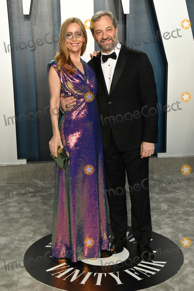 Judd Apatow Photo - 09 February 2020 - Los Angeles California -  Leslie Mann Judd Apatow 2020 Vanity Fair Oscar Party following the 92nd Academy Awards held at the Wallis Annenberg Center for the Performing Arts Photo Credit Birdie ThompsonAdMedia
