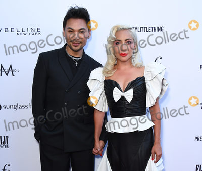 Lady GaGa Photo - 17 March 2019 - Hollywood California - Frederic Aspiras Lady Gaga The Daily Front Rows 5th Annual Fashion LA Awards held at The Beverly Hills Hotel Photo Credit Birdie ThompsonAdMedia