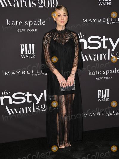 Kaley Cuoco Photo - 21 October 2019 - Hollywood California - Kaley Cuoco 2019 InStyle Awards held at The Getty Center Photo Credit Birdie ThompsonAdMedia