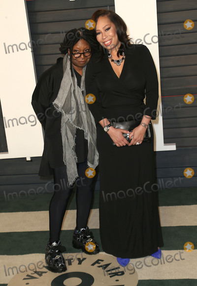 Alex Martin Photo - 28 February 2016 - Beverly Hills California - Whoopi Goldberg Alex Martin 2016 Vanity Fair Oscar Party hosted by Graydon Carter following the 88th Academy Awards held at the Wallis Annenberg Center for the Performing Arts Photo Credit Byron PurvisAdMedia