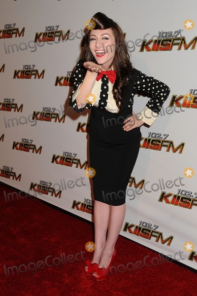 Amy Heidemann Photo - 3 December 2011 - Los Angeles California - Amy Heidemann Karmin 1027 KIIS FMS Jingle Ball 2011 held at Nokia Theatre LA Live Photo Credit Byron PurvisAdMedia