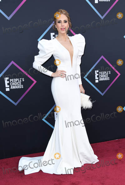 Alejandra Azcarate Photo - 11 November 2018 - Santa Monica California - Alejandra Azcarate 2018 E Peoples Choice Awards - Arrivals held at Barker Hangar Photo Credit Birdie ThompsonAdMedia