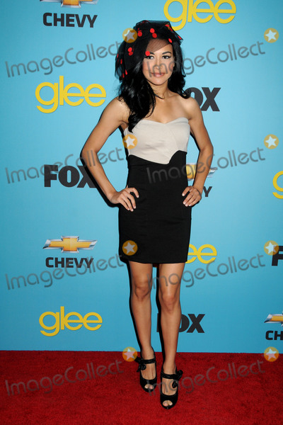 Naya Rivera Photo - 13 July 2020 - Naya Rivera the actress best known for playing cheerleader Santana Lopez on Glee has been confirmed dead Rivera 33 is believed to have drowned while swimming in the lake with her 4-year-old son who was found asleep on their rental pontoon boat after it was overdue for return 12 April 2010 - West Hollywood California - Naya Rivera Foxs Glee Spring Premiere Soiree held at Bar Marmont Photo Credit Byron PurvisAdMedia