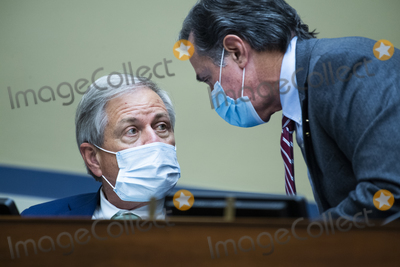 Alabama Photo - United States Representatives Ralph Norman (Republican of South Carolina) left and Gary Palmer (Republican of Alabama) confer as US Postmaster General Louis DeJoy testifies during the US House Oversight and Reform Committee hearing titled Protecting the Timely Delivery of Mail Medicine and Mail-in Ballots in Rayburn House Office Building on Monday August 24 2020Credit Tom Williams  Pool via CNPAdMedia