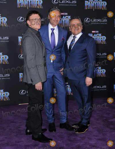 Anthony Russo Photo - 29 January 2018 - Hollywood California - Anthony Russo Taika Waititi Joe Russo Marvel Studios Black Panther World Premiere held at Dolby Theater Photo Credit Birdie ThompsonAdMedia