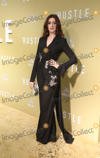 Anne Hathaway Photo - 08 May 2019 - Hollywood California - Anne Hathaway Premiere Of MGMs The Hustle  held at The ArcLight Hollywood Photo Credit Faye SadouAdMedia