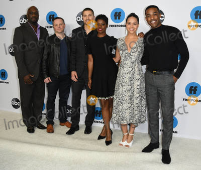 Afton Williamson Photo - 05 February 2019 - Pasadena California - Richard T Jones Alexi Hawley Eric Winter Afton Williamson Alyssa Diaz Titus Makin Disney ABC Television TCA Winter Press Tour 2019 held at The Langham Huntington Hotel Photo Credit Birdie ThompsonAdMedia