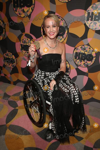 Mallory Weggemann Photo - 05 January 2020 - Beverly Hills California - Mallory Weggemann  2020 HBO Golden Globe Awards After Party held at Circa 55 Restaurant in the Beverly Hilton Hotel Photo Credit FSAdMedia